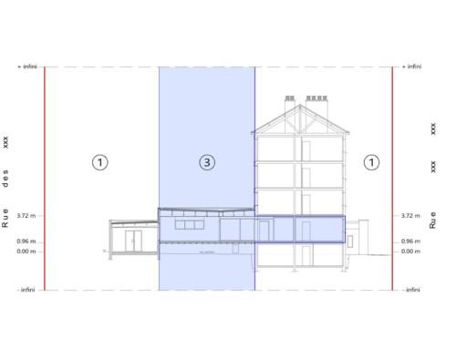 Division en volumes : Habitat 44 à BLAIN – Division en volumes d'un immeuble
