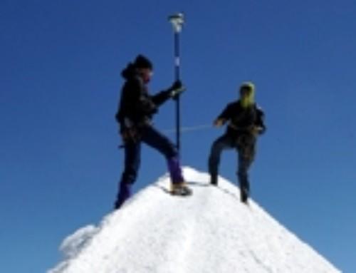 Les géomètres-experts sur le toit de l'Europe
